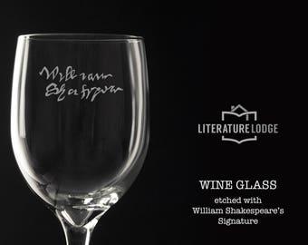 Wine Glass: William Shakespeare
