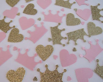 Princess Crown confetti - FREE SHIPPING !