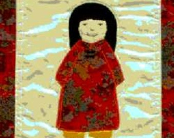 International Adoption Quilt Patterns - Vietnamese Girl