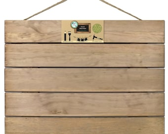 Pallet - Weathered Wood for Home Decor & Crafting - 18x24