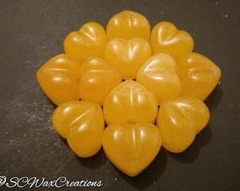 Tangerine handmade wax melts