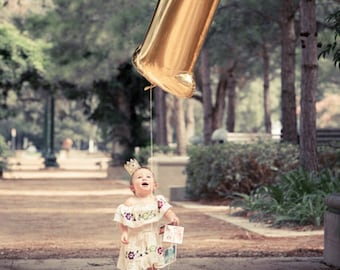 First Birthday Balloon, One Balloon, Number 1 Balloon, Rose Gold Number, Gold Number Balloon, Silver Number Balloon, First Birthday Balloon