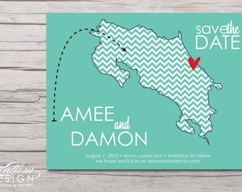 Costa Rica – Save the Date – Destination Wedding – Save the Dates