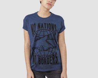 No Nations No Borders T-shirt