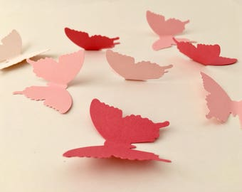 Ombre - Butterfly Confetti - Butterfly - Ombre - Butterfly Party Supplies - Party Supplies - Table Decor - Butterflies - Gender Reveal
