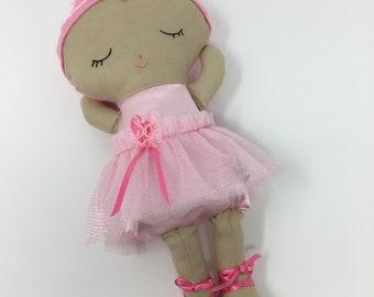 Whimsical Ballerina Doll