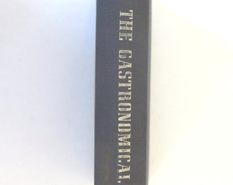 The Gastronomical Me, M.F.K. Fisher, 1943, First Edition, 2nd Printing, Vintage WWII Era 1940s Food Travel Memoir