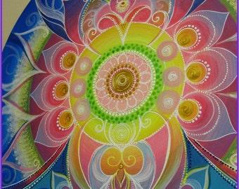 MANDALA...Harmony...wisdom inside of us..