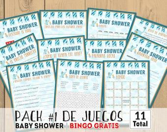 Baby Shower Juegos Espanol Baby Shower Para Nene Juegos Para