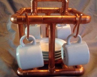 Handmade Copper Espresso Tray