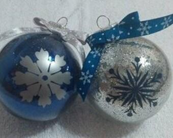 Snowflake Ornaments (12 ornaments)