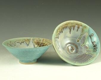 Pair of rice bowls
