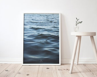 feet in the WATER - A3 Artprint - Poster