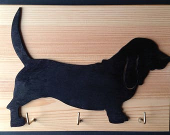 Basset Hound Lead/ Key holder