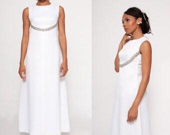 Constance wedding dress   vintage 60s wedding dress   satin 1960s wedding dress