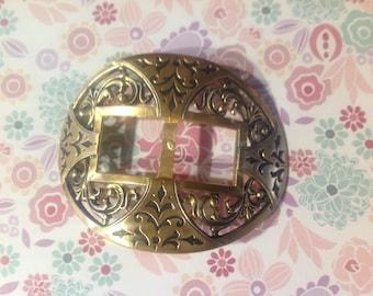 Vintage early last century antique belt buckle