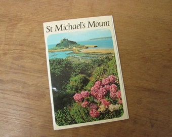 1960s St Michael's Mount guide book
