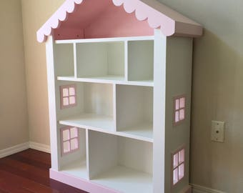Log Cabin Bookshelf Kids Child S Bookcase