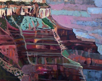 Grand Canyon Diptych Original Painting