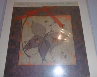 -Anagram - Vanney Gatineau Soizic - Butterfly cross stitch pattern