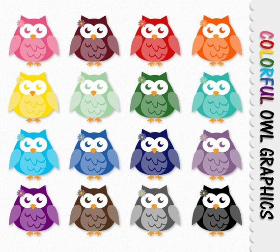 Owl Graphics Cute Owl Clip Art Clipart Scrapbook Graphic