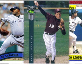 NEW YORK YANKEES Baseball Team Lot - 250 Assorted Cards