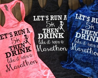 Lets run a 5K then drink like we ran a Marathon