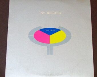 """Yes - 90125 - """"Owner of a Lonely Heart"""" - """"Hold On"""" - """"It Can Happen"""" - British Prog Rock - Atlantic 1983 - Vintage Vinyl LP Record Album"""