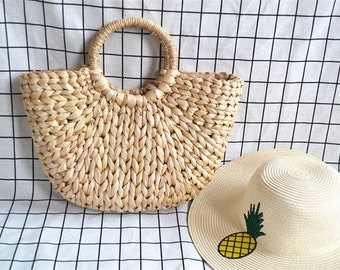 Tote bag, straw bag, raffia bag was bali Beach tote bag, beach bag, bag, braided, summer, bag Bohemian bag