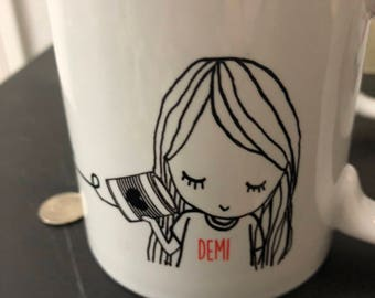 Long Distance Best Friend Mug -  Option for shipping to two different location Purchase two