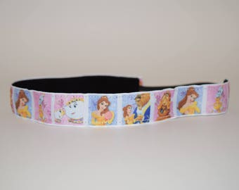 Beauty and the Beast Headband- Beauty Headband- Beauty and the Beast- Chip- Mrs. Potts- Sport Headband