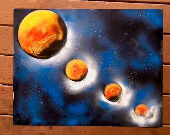 HOLD YOUR PLANETS Original painting