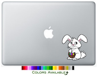 Easter Bunny Laptop Decal