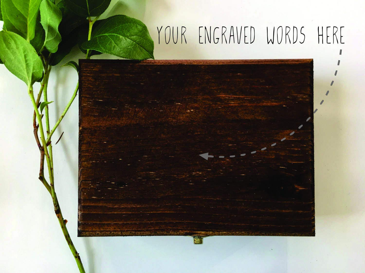 Create your own custom engraved wooden box ring box for Design your own wooden ring