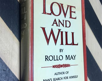 Love and Will by Rollo May (Hardcover, 1969) vintage book