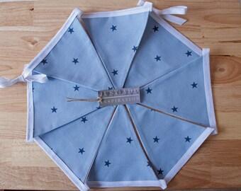 Blue Star Bunting