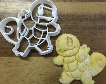 Squirtle - Pokemon 3D Printed Cookie Cutter