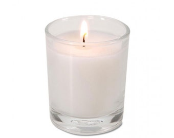Clear Glass Soy Votive Candles (Case of 48)