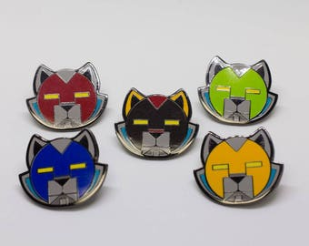 Space Cats Enamel Pins