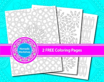 Coloring Pages for Adults Geometric coloring pages Printable Coloring Pages PDF Printable coloring Pages Coloring pages for adults