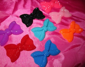 "30MM ""Bling"" Resin Bow for Decoration"