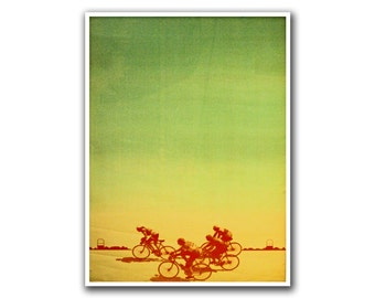 Bicycle Decor Cycling Poster Road Bike Art Vintage Print (H32)