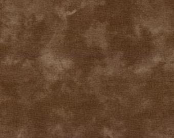 Brown Batik Fabric - Kota Coffee for Moda Fabrics - 41000 15 - Priced by the 1/2 yard