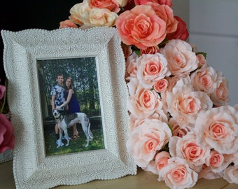 Farmhouse Picture Frame: Vintage Feel- Crafty Home by Missy