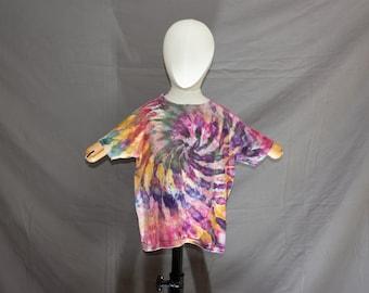 Handmade Ice Dye T-Shirt: Kids X-Small 1