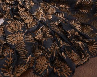 "Silk Velvet fabric, 55""/140cm width special burnout silk velvet for evening dresses, tops, shawls, cheongsam, shirts, suits by the yard"