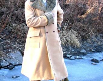 Men's Fur and Faux Fur Collar Coats
