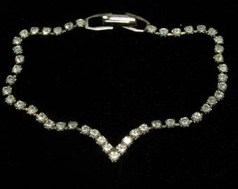 Dainty Classic Rhinestone Vintage Bracelet