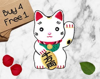 Cat Patches Kawaii Patches Iron On Patch Embroidered Patch Sew On Patch Girl Patches