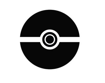 Pokemon Pokeball Decal